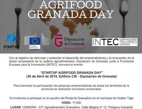 CINNGRA colabora con la Iniciativa «Startup Smart Agrifood Granada Day» y presenta la misma en su sede para promocionar a las empresas de la Provincia