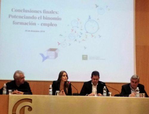 """Finalización jornadas """"Encuentros Sectoriales: Potenciando el Binomio Formación-Empleo"""""""