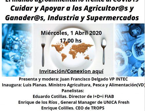 Jornada-Webinar AGRIFOOD BEATS CORONAVIRUS