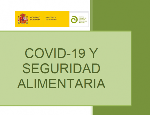 Información a consumidores sobre Seguridad Alimentaria y COVID-19