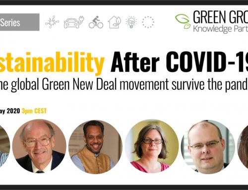 Sostenibilidad después del COVID-19: ¿Podrá el Nuevo Movimiento Verde sobrevivir a la pandemia?